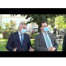 Declarații susținute de premierul Ludovic Orban, după întâlnirea cu Dumitru Leuștean, primarul orașului Novaci, județul Gorj